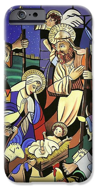 Baby Jesus iPhone Cases - A True Story iPhone Case by Anthony Falbo