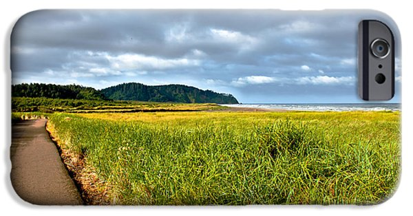 Seacapes iPhone Cases - A View From Discovery Trail iPhone Case by Robert Bales
