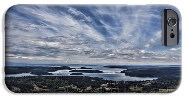 Jeff Swanson iPhone Cases - A View From Mt. Erie iPhone Case by Jeff Swanson