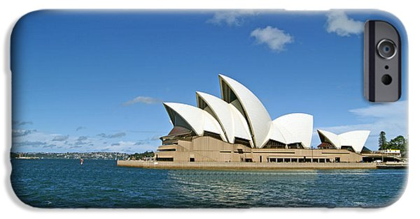 Perform iPhone Cases - A View of the Sydney Opera House iPhone Case by Anonymous