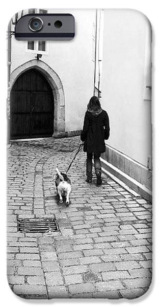 A Walk in Prague iPhone Case by John Rizzuto