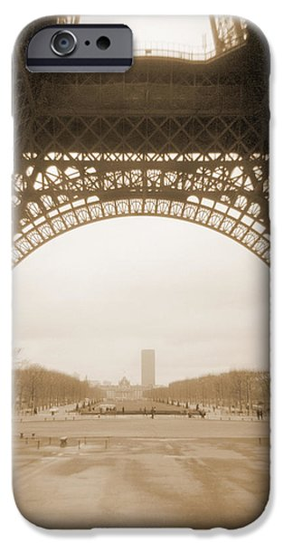 A Walk Through Paris 14 iPhone Case by Mike McGlothlen