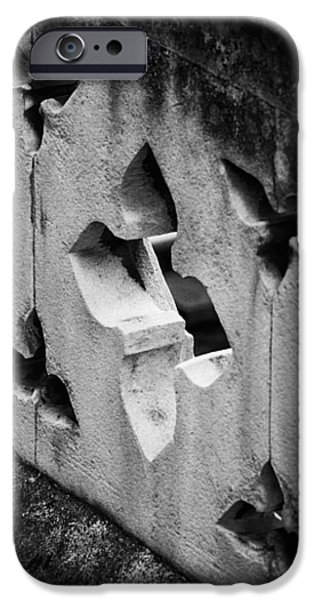 A Wall Between Gardens iPhone Case by Christi Kraft