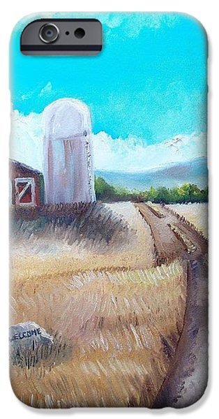 A Warm Welcome iPhone Case by Shana Rowe