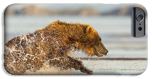 Born Adult iPhone Cases - A Wet and Wild Chase iPhone Case by Tim Grams