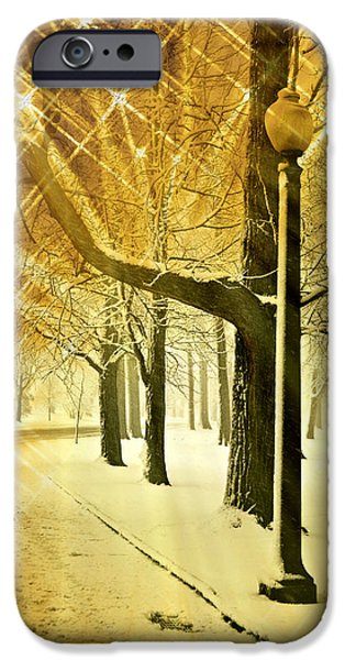 A Winter's Night iPhone Case by Marty Koch