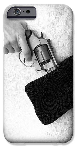 A Woman Scorned iPhone Case by Edward Fielding