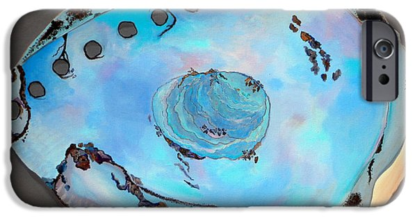 Abalones iPhone Cases - Abalone Sea Shell iPhone Case by Karyn Robinson