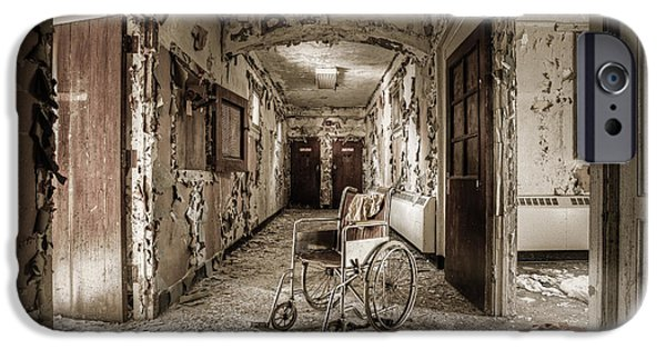 Gary Heller iPhone Cases - Abandoned asylums - what has become iPhone Case by Gary Heller