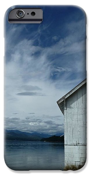 Abandoned by the Water iPhone Case by Patricia Strand