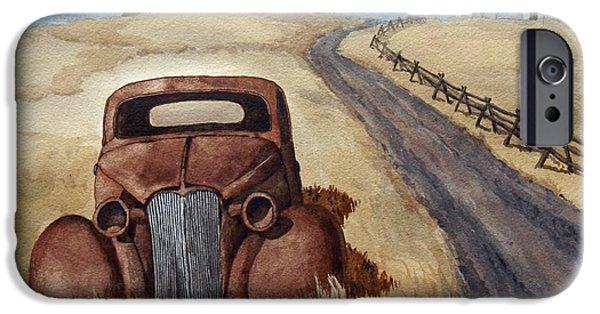 Transportation Ceramics iPhone Cases - Abandoned iPhone Case by Dan Krapf