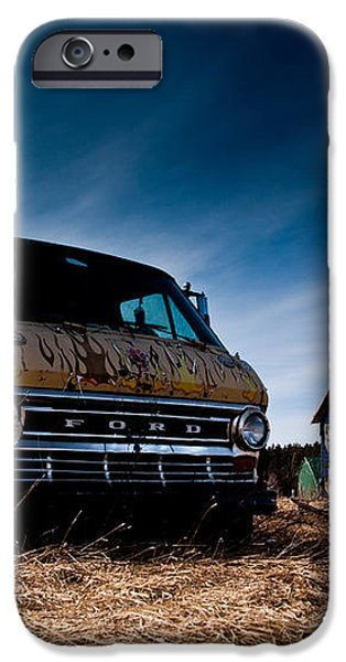 Abandoned Ford Van iPhone Case by Cale Best
