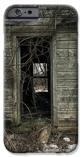 Abandoned House - Enter House on the Hill iPhone Case by Gary Heller