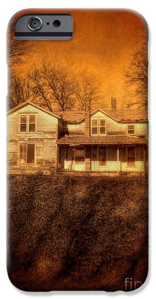 Abandoned House Sunset iPhone Case by Jill Battaglia