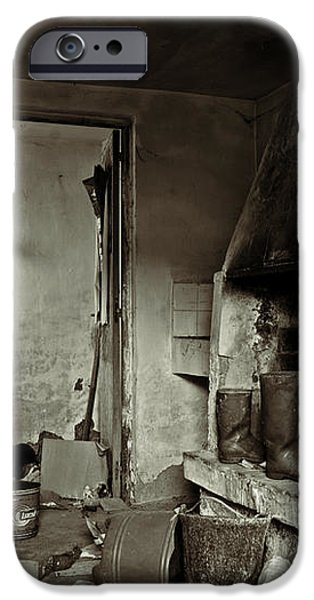 Abandoned in a rush iPhone Case by RicardMN Photography