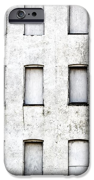 Abandoned in Asbury Park iPhone Case by John Rizzuto