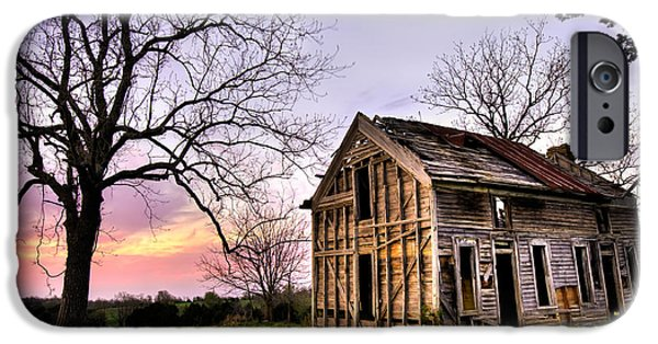 Arkansas iPhone Cases - Abandoned Memories  iPhone Case by Gregory Ballos