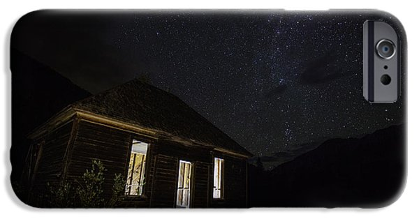 Haunted iPhone Cases - Abandoned Nights iPhone Case by Darren  White