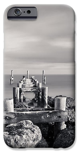 Abandoned Pier iPhone Case by Adam Romanowicz
