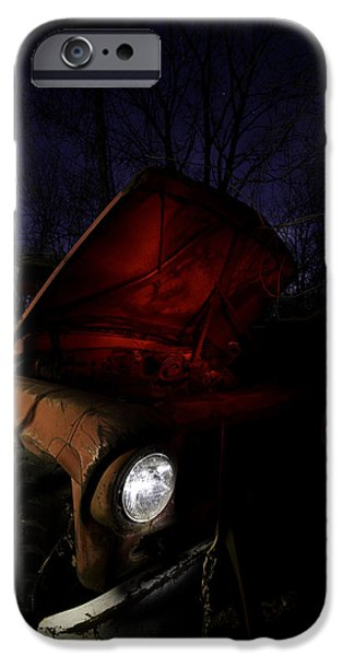 Old Truck iPhone Cases - Abandoned Truck iPhone Case by Cale Best