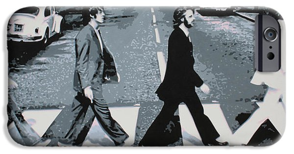Ludzska iPhone Cases - Abbey Road 2013 iPhone Case by Luis Ludzska