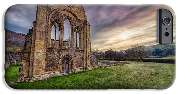 13th Century iPhone Cases - Abbey Ruins iPhone Case by Adrian Evans