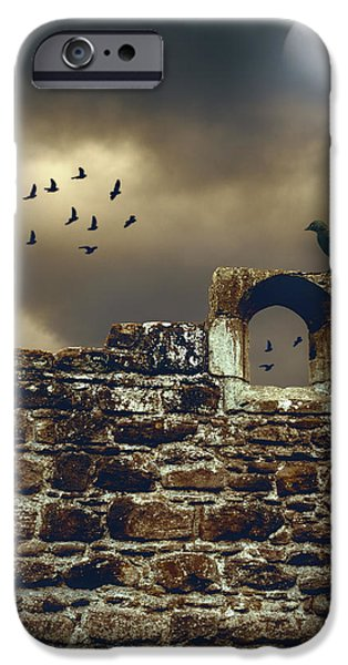 Abbey Wall iPhone Case by Amanda And Christopher Elwell