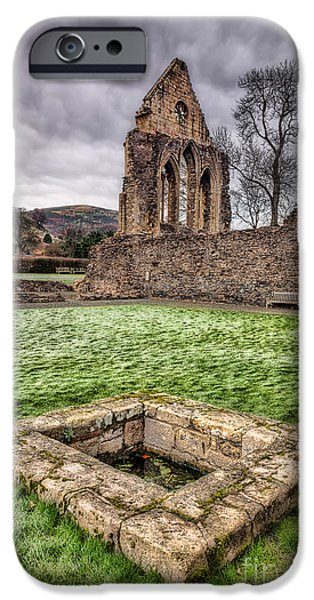 13th Century iPhone Cases - Abbey Well iPhone Case by Adrian Evans
