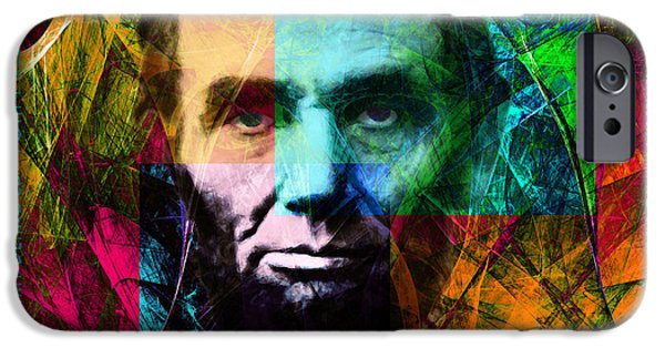Recently Sold -  - President iPhone Cases - Abe The Broham Lincoln 20140217 iPhone Case by Wingsdomain Art and Photography