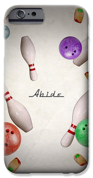 Bowling iPhone Cases - Abide iPhone Case by Filippo B