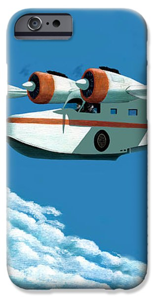 Above it all  the Grumman Goose iPhone Case by Gary Giacomelli