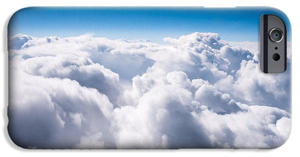 Heavenly iPhone Cases - Above The Clouds iPhone Case by Paul Velgos