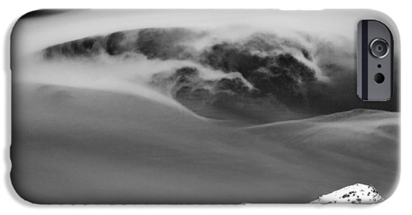Norway iPhone Cases - Above the Peaks iPhone Case by Dave Bowman