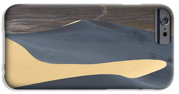 Sand Dune iPhone Cases - Above the Road iPhone Case by Chad Dutson