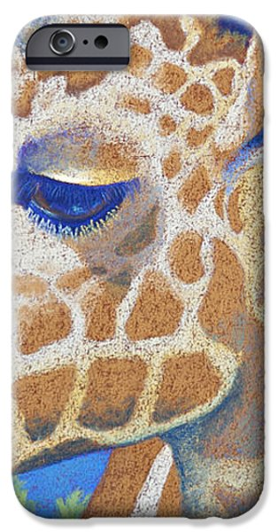 Gold Pastels iPhone Cases - Above the Treetops II iPhone Case by Tracy L Teeter