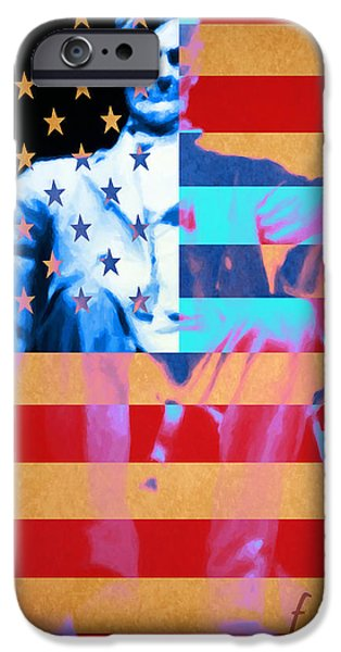 Abraham Lincoln - Freedom iPhone Case by Wingsdomain Art and Photography