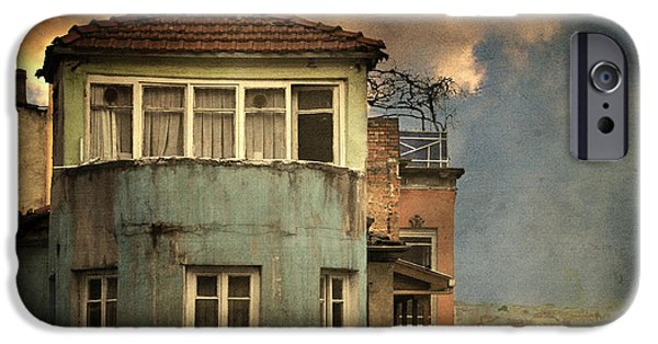 Balat iPhone Cases - Absence 16 44 iPhone Case by Taylan Soyturk