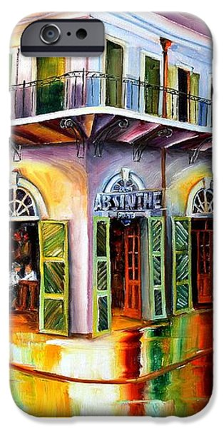 Absinthe House New Orleans iPhone Case by Diane Millsap