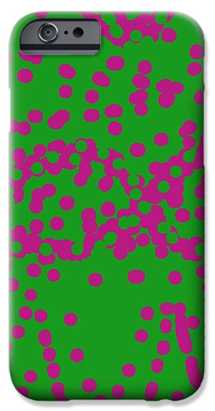 Etc... iPhone Cases - Abstract 005 iPhone Case by Earnestine Clay