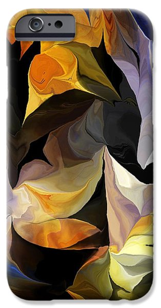Abstract Digital iPhone Cases - Abstract 061613 iPhone Case by David Lane
