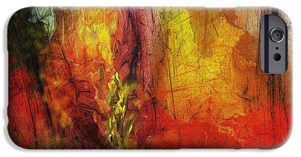 Abstract Digital Art iPhone Cases - Abstract 062913 iPhone Case by David Lane