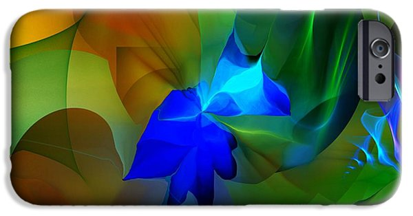 Abstract Digital iPhone Cases - Abstract 091213 iPhone Case by David Lane