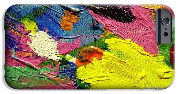Abstract Expressionism iPhone Cases - Abstract  1 iPhone Case by John  Nolan