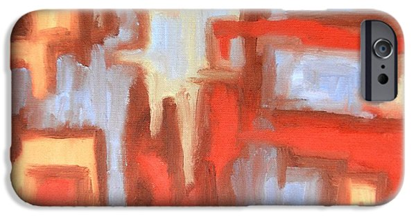 Art Mobile iPhone Cases - Abstract 147 iPhone Case by Patrick J Murphy