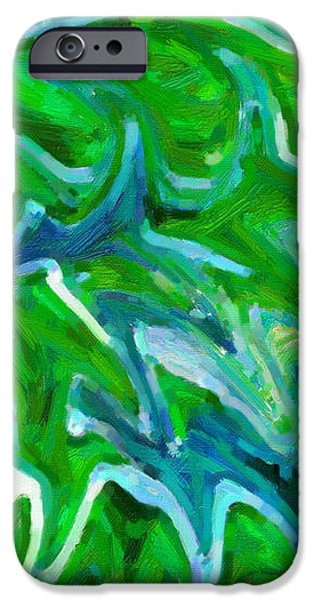 Abstract 16 iPhone Case by Kenny Francis