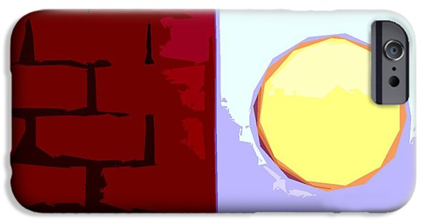 New Attitudes iPhone Cases - Abstract 161 iPhone Case by Patrick J Murphy