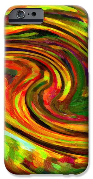 Abstract 17 iPhone Case by Kenny Francis