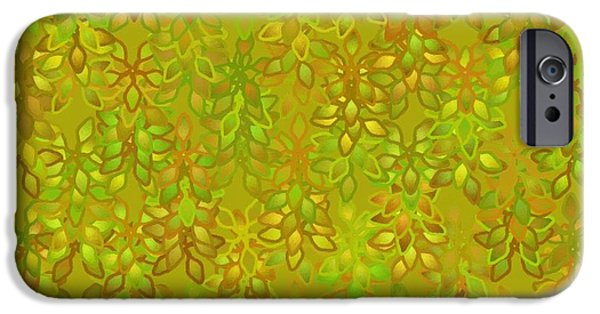 Concept Art iPhone Cases - Abstract 200 iPhone Case by Victor Gladkiy
