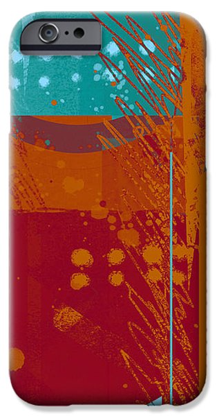 Abstract 203 iPhone Case by Ann Powell