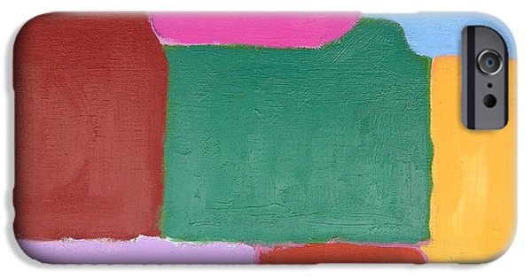Art Mobile iPhone Cases - Abstract 216 iPhone Case by Patrick J Murphy
